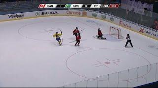Höjdpunkter: Sverige krossade Kanada - blågult vidare till semi - TV4 Sport
