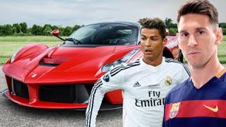 أغلى 10 سيارات يمتلكها نجوم الكرة القدم