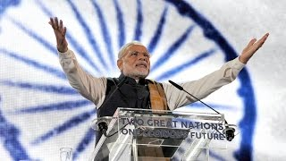 PM Modi at Wembley Stadium