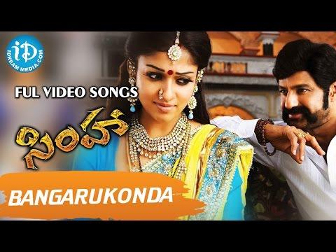 Xxx Mp4 Simha Telugu Movie Bangarukonda Video Song Balakrishna Nayanthara Boyapati Srinu 3gp Sex