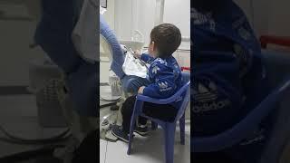 Erori duke pastruar dhëmbët e lepuroshit te Klinika Dentare Dent-In 😘