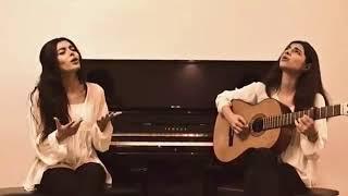 اجرای ترانه خاطره انگیز فریب از بانو الهه توسط ثمین و بهین بلوری