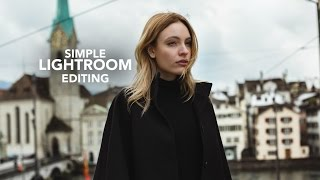 Editing a Picture in Lightroom - Easy Beginner Tutorial