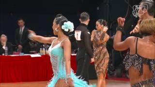 The Semi-Final Reel   Asian Championship 2017 Hong Kong   DanceSport Total