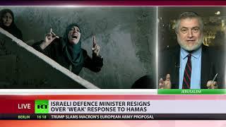 Israeli Defense Minister resigns, calls Gaza ceasefire 'capitulation to terror'