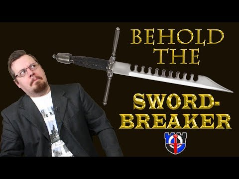 Underappreciated Historical Weapons The SWORDBREAKER the European and Chinese