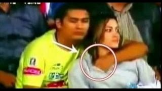Sexiest Moments of IPL Caught on Camera