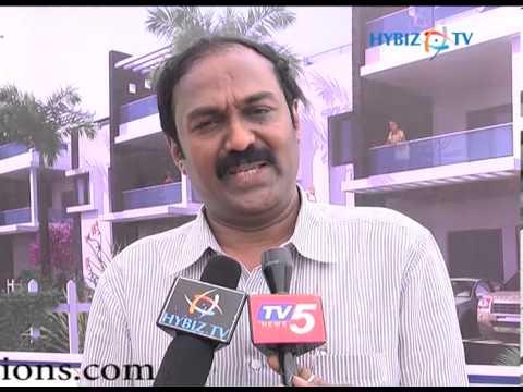 C. Shekar Reddy, President of CREDAI at Villa Onyx Venture Launch, Hyderabad, A.P