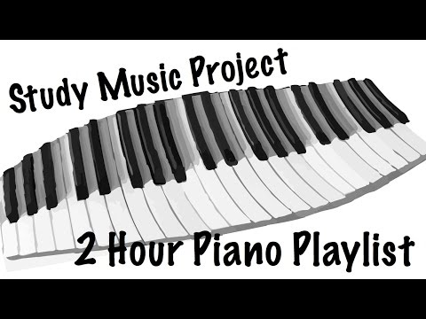 NEW 2 HOUR LONG Piano Music Playlist for Relaxing Studying Focus and Work