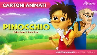 Pinocchio storie per bambini | Storie della buonanotte | Cartoni animati Italiano