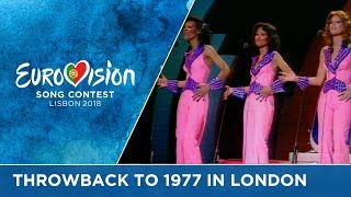 #ThrowbackThursday to 40 years ago: The 1977 Eurovision Song Contest in London
