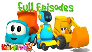 Leo the truck full episodes 13. Cartoons with trucks for kids.