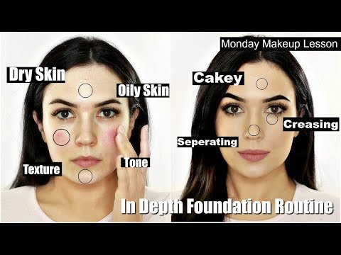 In Depth FULL Foundation Routine For Beginners EVERYTHING YOU NEED TO KNOW IN ONE VIDEO