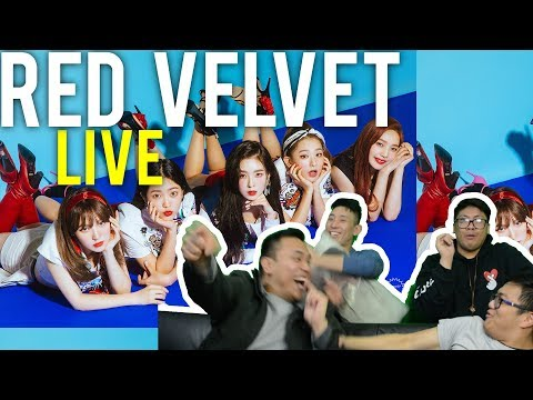Red Velvet With You We Can Power Up Live Stage Reactions