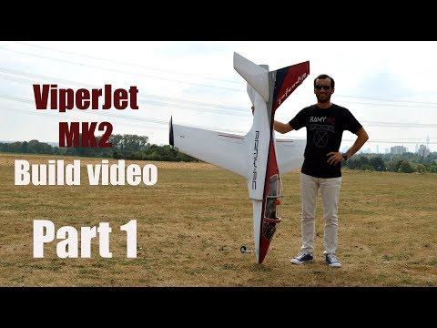 VIPERJET MK2 RC airplane build video by Ramy RC Part 1