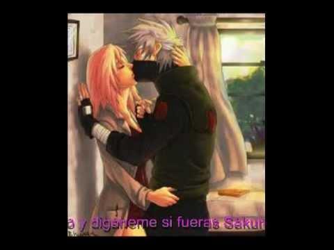 yo soy tu maestro kakashi y sakura