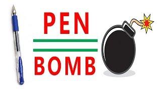 PEN BOMB - At Home