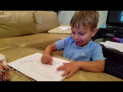 watch Fun information about States and Capitals From A 4 Year Old