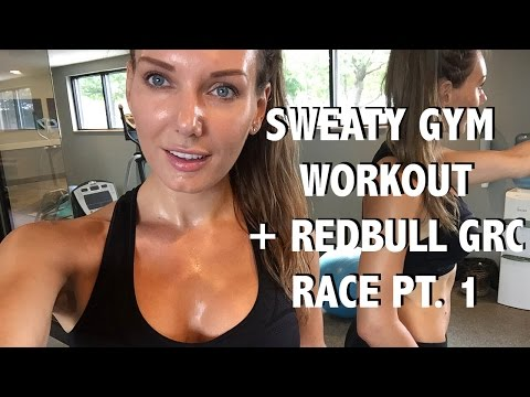 Sweaty Gym Workout | Redbull GRC Seattle Round 8 Race Weekend Part 1 | VLOG 2