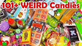 101+ Weird Candies