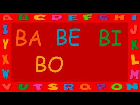 Xxx Mp4 Infantil Alfabeto Ba Be Bi Bo Bu 3gp Sex