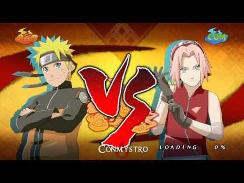 Naruto Storm 2 Naruto vs. Sakura