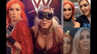 BEST OF WWE's Becky Lynch and Charlotte Flair (PART 1) (FUNNY) (Snapchat & Instagram)