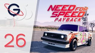 NEED FOR SPEED PAYBACK FR #26 : VOLVO 242DL (Voiture abandonnée)