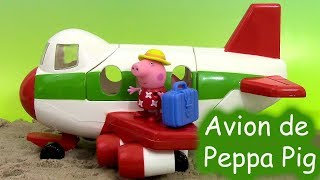 Peppa Pig Holiday Plane Avion des vacances Jouet ♥ Air Peppa Holiday Jet