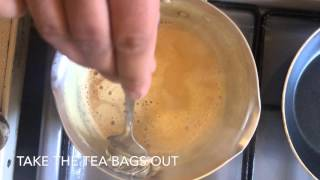 Pakistani/Indian Tea (Doodh Pati Chai)