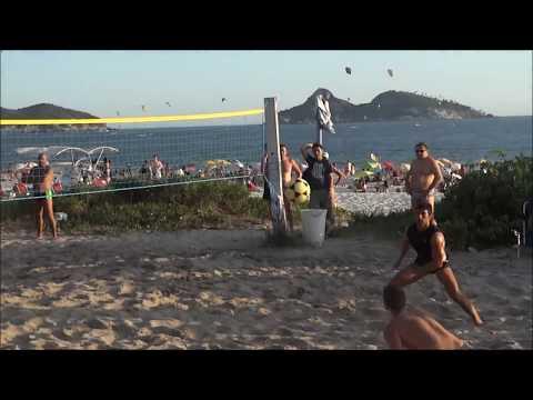 Futevolei Barra da Tijuca Rio de Janeiro 2014 Footvolley