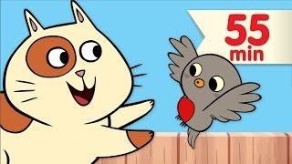 Little Robin Redbreast + More | Nursery Rhymes & Children