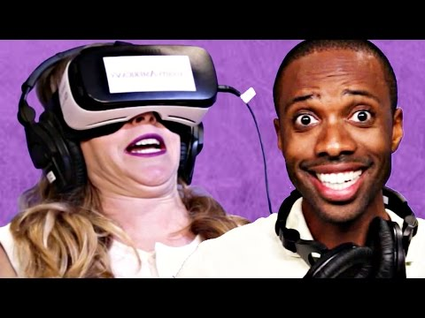 Xxx Mp4 People Try Virtual Reality Porn 3gp Sex