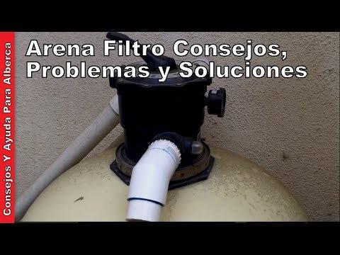 Arena Filtro Consejos Problemas y Soluciones