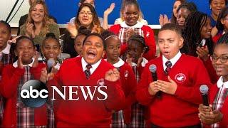 Middle school choir whose