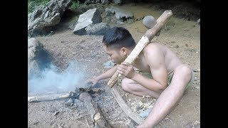 Primitive Skillls: Making Stone Axes From The Primitive