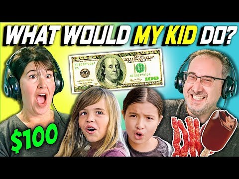 CAN PARENTS GUESS WHAT THEIR KID DOES WITH 100 DOLLARS Ep. 2