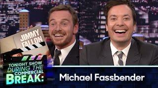 During Commercial Break: Michael Fassbender