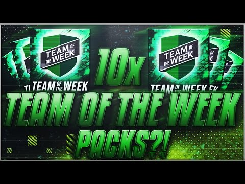 I M DONE. BEST TOTW PACKS EVER. 10x Team of the Week Pack Opening