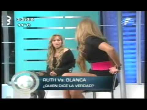 La Pelea de Blanca Cabrera Vs. Ruth Alcaraz parte 1
