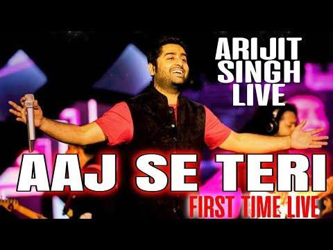 Xxx Mp4 Aaj Se Teri LIVE Full HD Arijit Singh Live In Concert Mtv India Tour Padman 3gp Sex