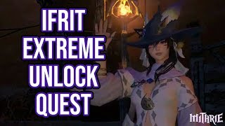 FFXIV 2.1 0168 Ifrit Extreme Unlock Quest