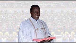 Bishop Dr. Harrison Ng'ang'a Preaching at a burial in Nyahururu on 17th January 2018(1)