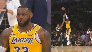 LeBron James Shocks Lakers Crowd With Game Tying Shot To Force Overtime vs Spurs! Lakers vs Spurs