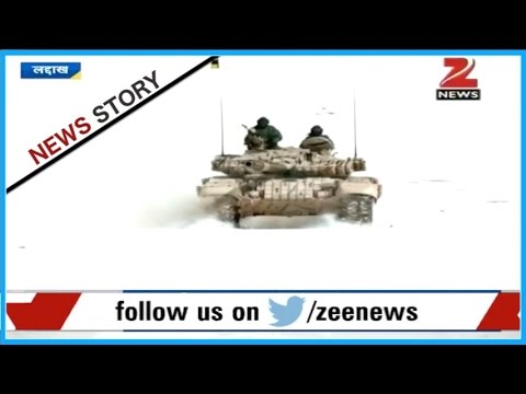 watch DNA : Indian army deploys its armored brigade in Ladakh for countering China movement