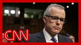 DOJ rejects Andrew McCabe's appeal to avoid prosecution