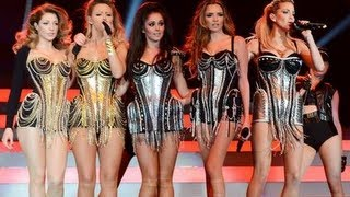 GIRLS ALOUD - TEN - The Hits Tour, footage @ O2 Arena, Fri 1 March 2013. FAIR USE (London)