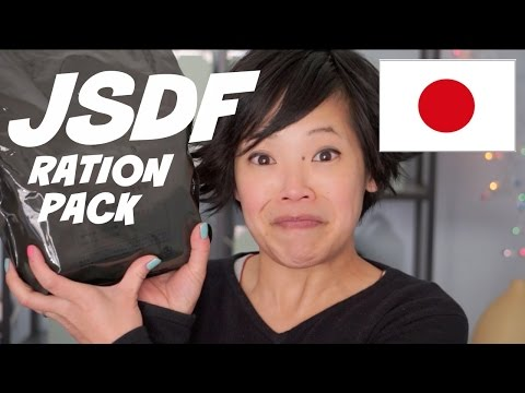 Japanese Self-Defense Forces Ration Pack (JSDF) - Japanese MRE