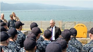 JIM  MATTIS ISSUES A CHILLING COMAND TO EVERYONE IN THE NAVY!