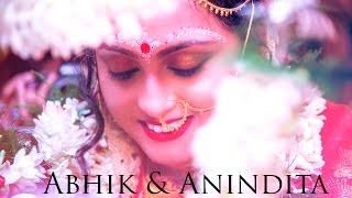The Cinematic Wedding Video ● Abhik + Anindita  ● The Rawshooter Photography ● Kolkata